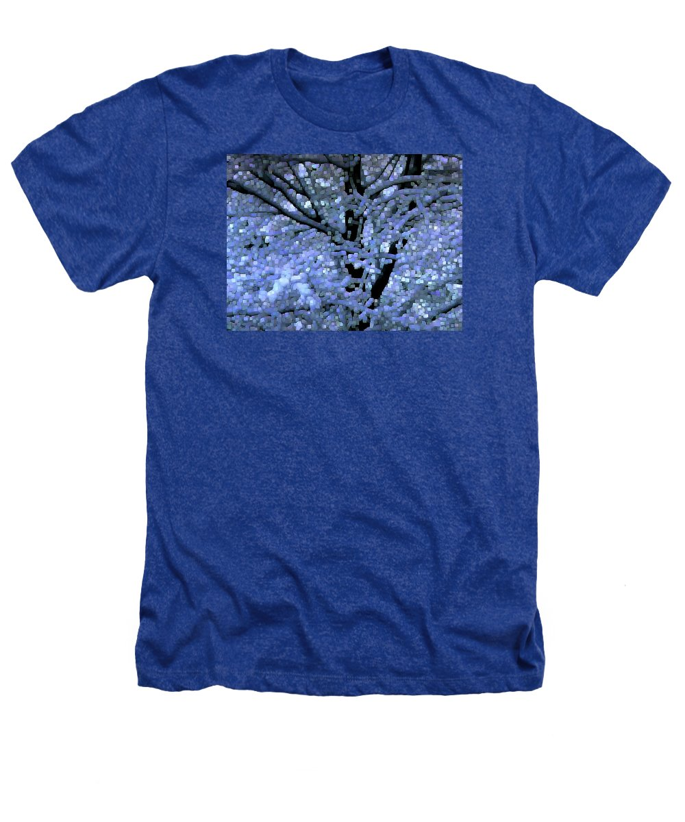 Abstract Heathers T-Shirt featuring the digital art Winter Light by Dave Martsolf