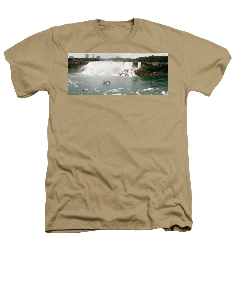 3scape Photos Heathers T-Shirt featuring the photograph American Falls by Adam Romanowicz