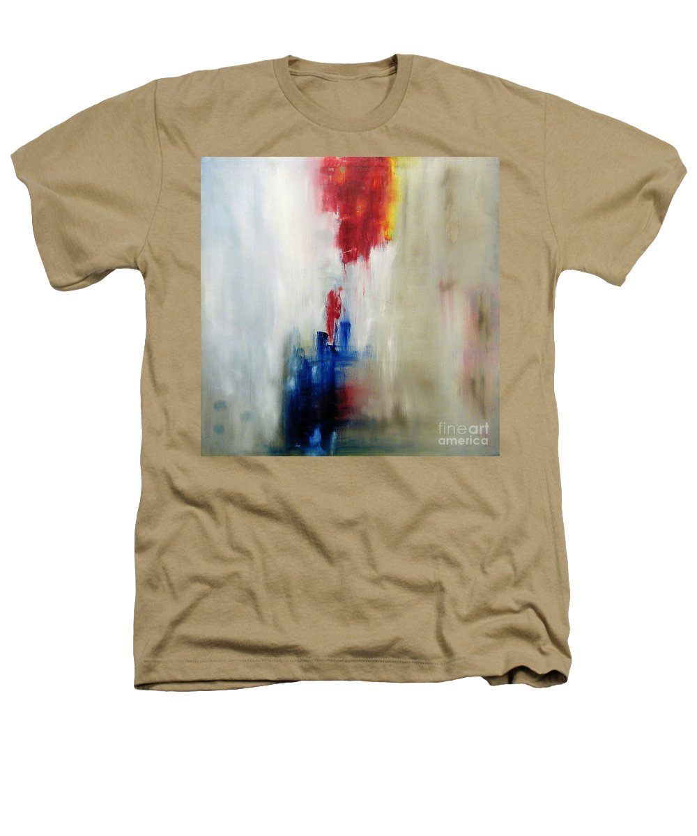 Abstract Painting Heathers T-Shirt featuring the painting C-15 by Jeff Barrett