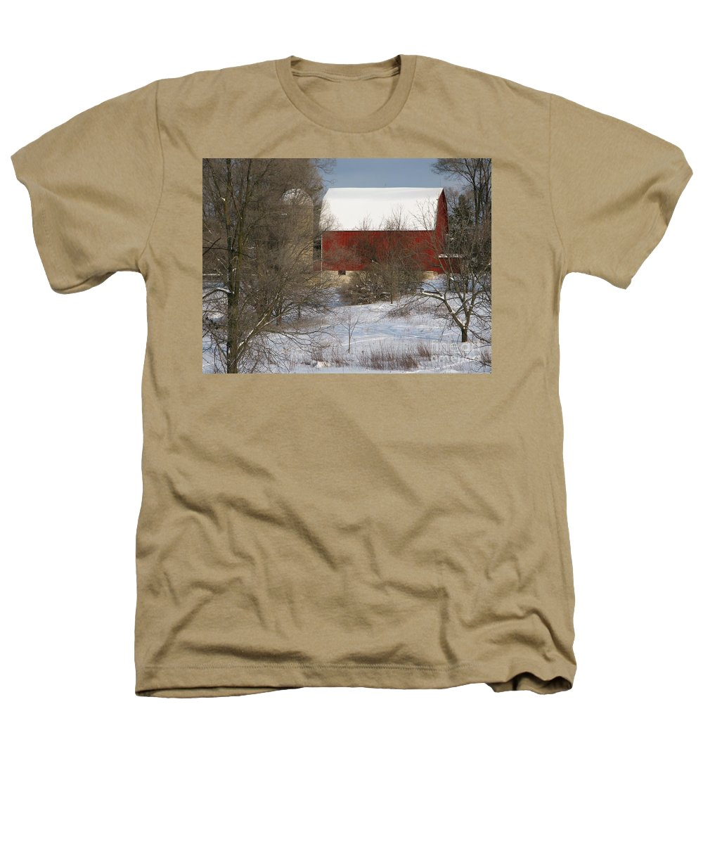 Winter Heathers T-Shirt featuring the photograph Country Winter by Ann Horn