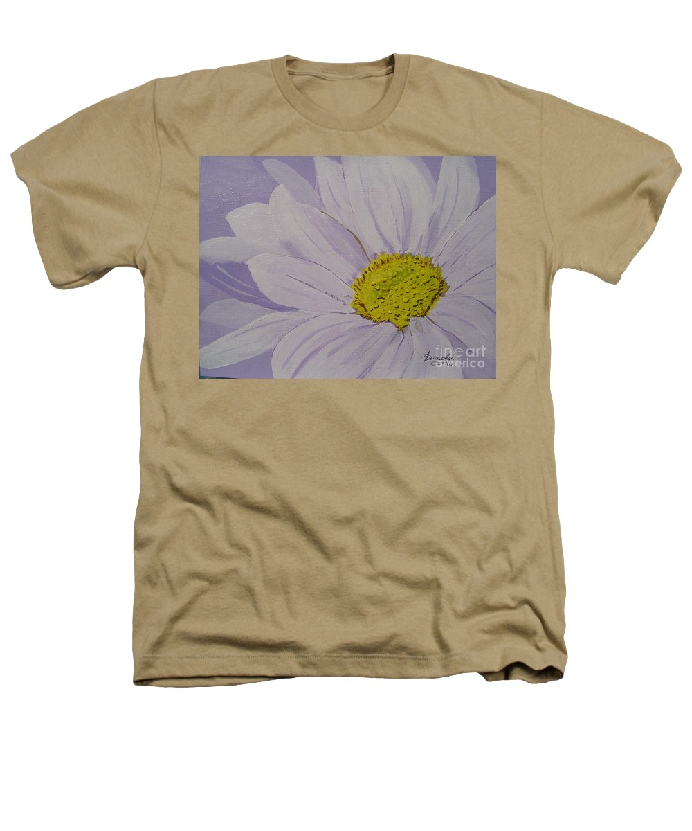 Daisy Heathers T-Shirt featuring the painting Daisy by Anthony Dunphy