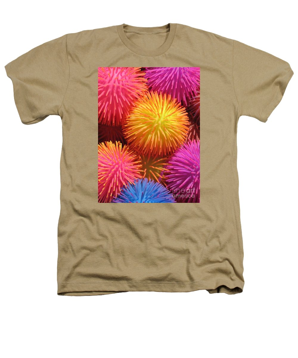 Abstract Heathers T-Shirt featuring the photograph Dazzlers by Ann Horn