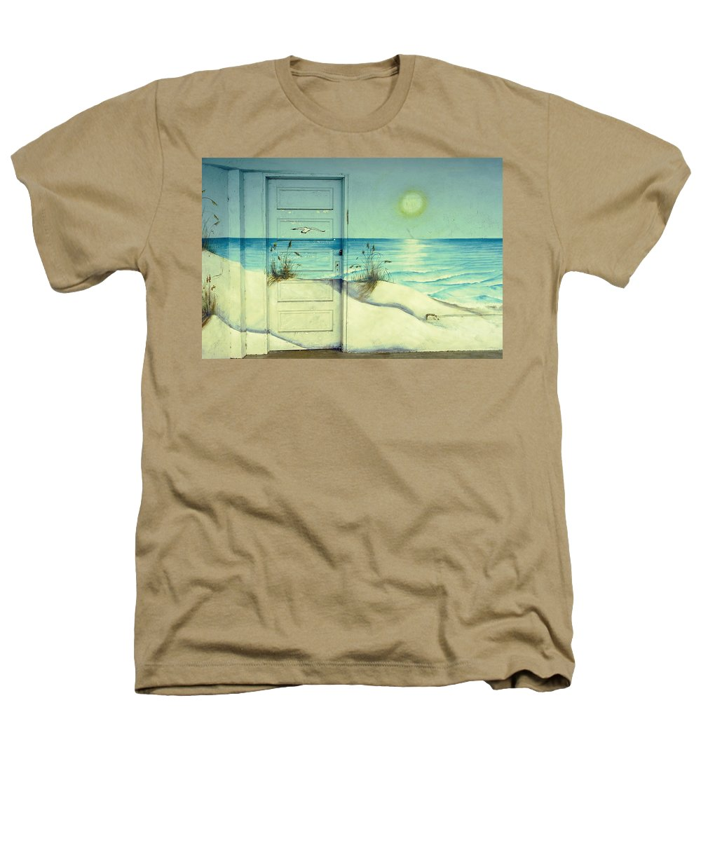 Architecture Heathers T-Shirt featuring the photograph Door Of Perception by Skip Hunt