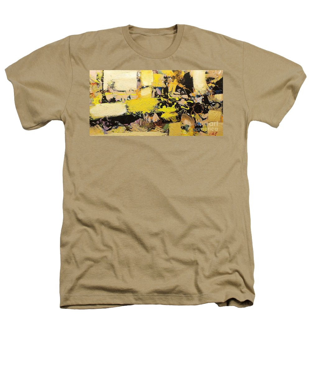 Landscape Heathers T-Shirt featuring the painting Euclid by Allan P Friedlander