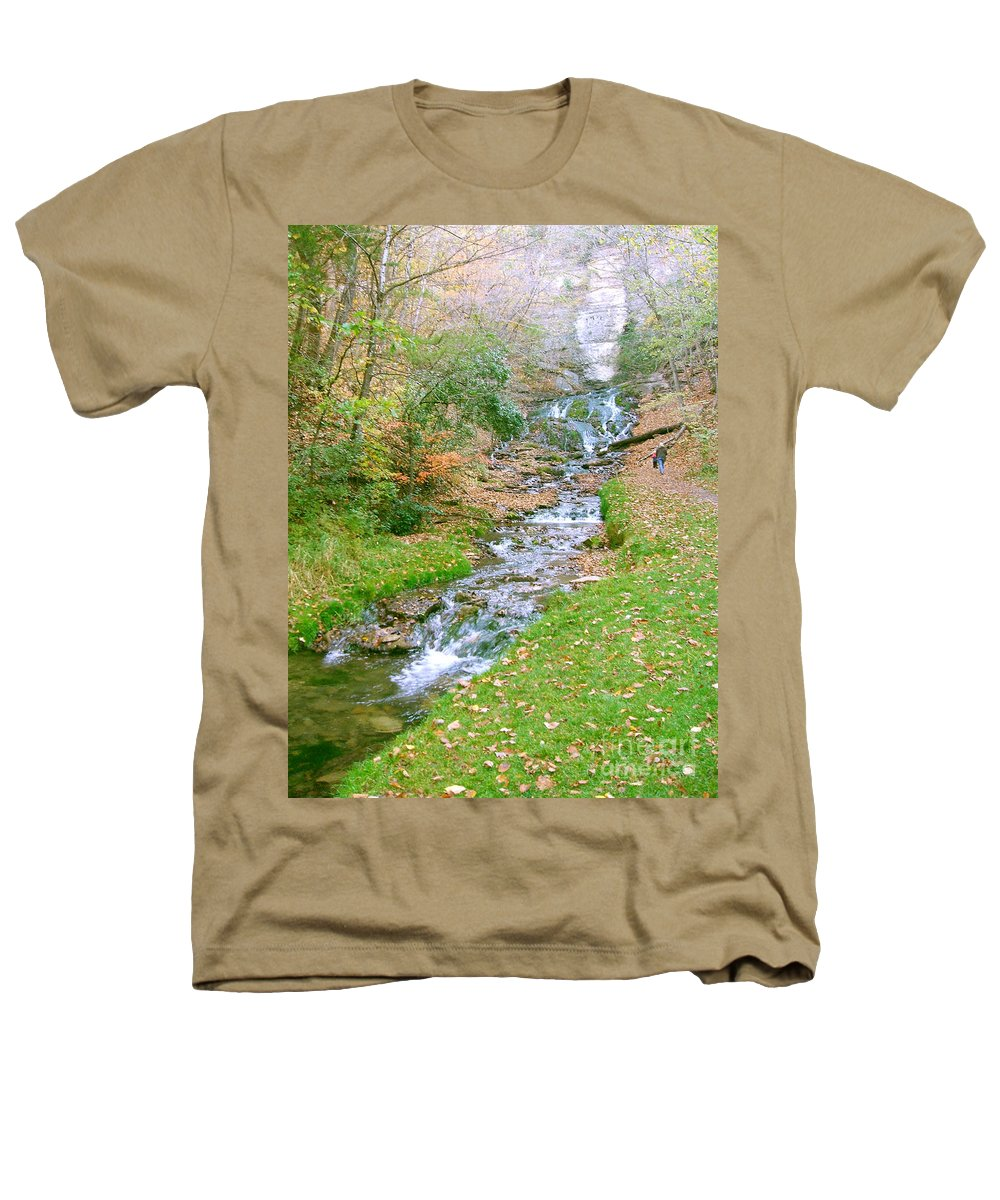 Springs Heathers T-Shirt featuring the photograph Fall Springs by Minding My Visions by Adri and Ray