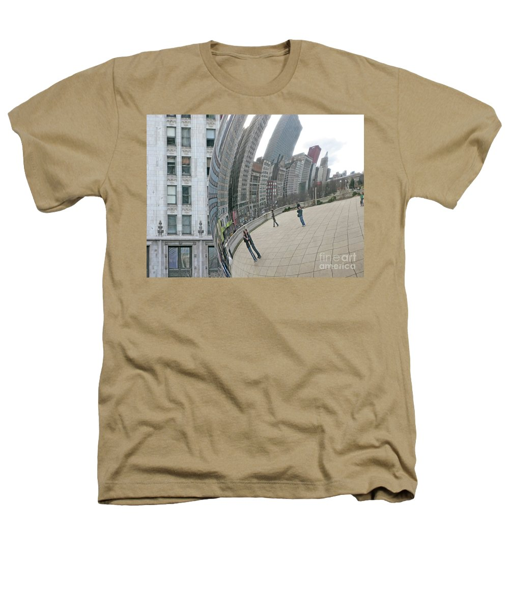 Chicago Heathers T-Shirt featuring the photograph Imaging Chicago by Ann Horn