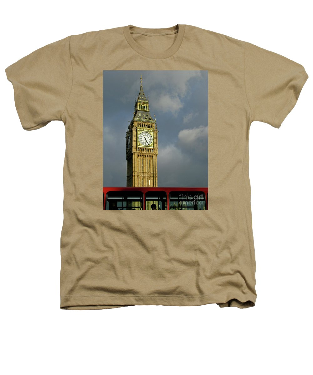 London Icons By Ann Horn Heathers T-Shirt featuring the photograph London Icons by Ann Horn