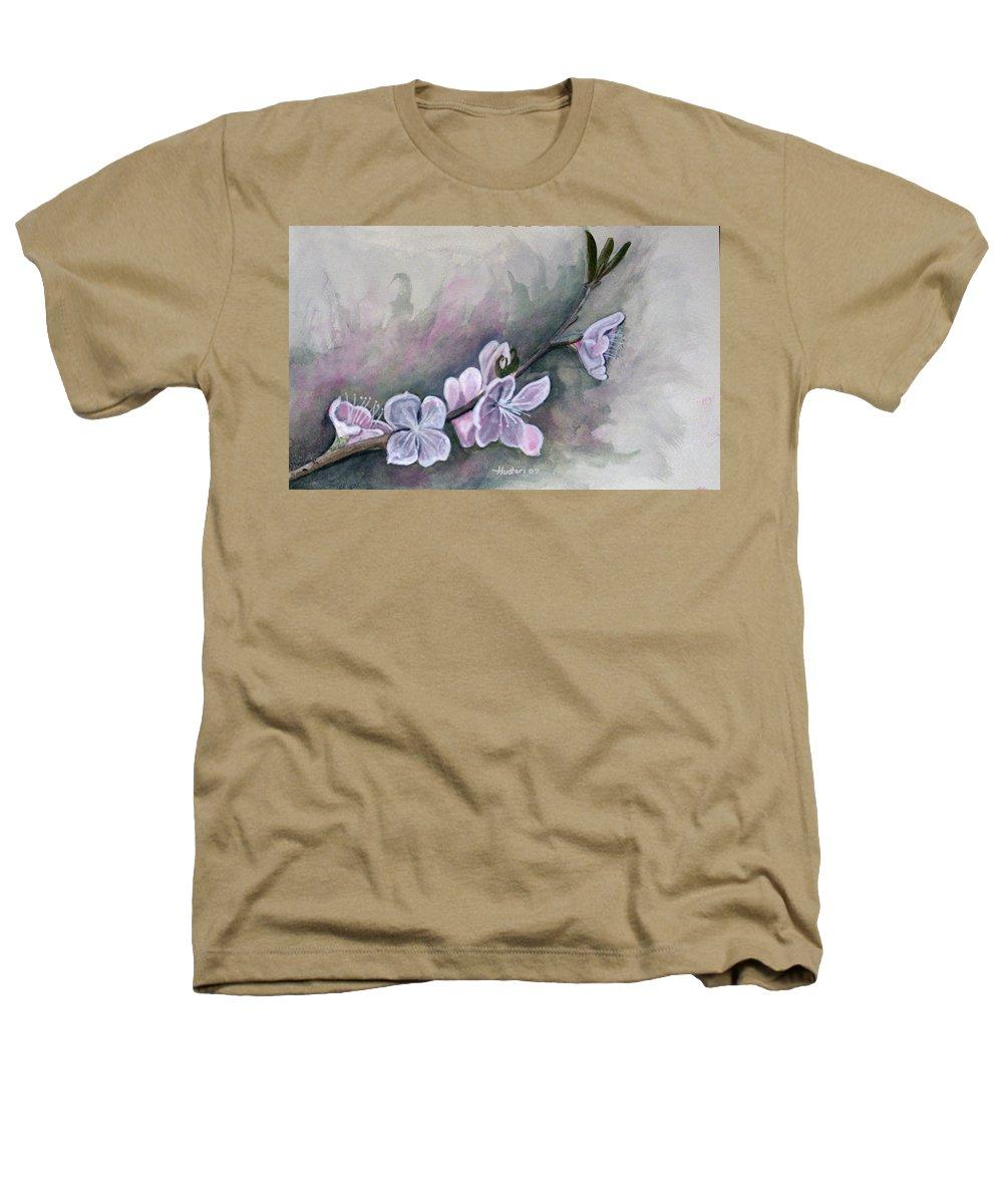 Rick Huotari Heathers T-Shirt featuring the painting Spring Splendor by Rick Huotari