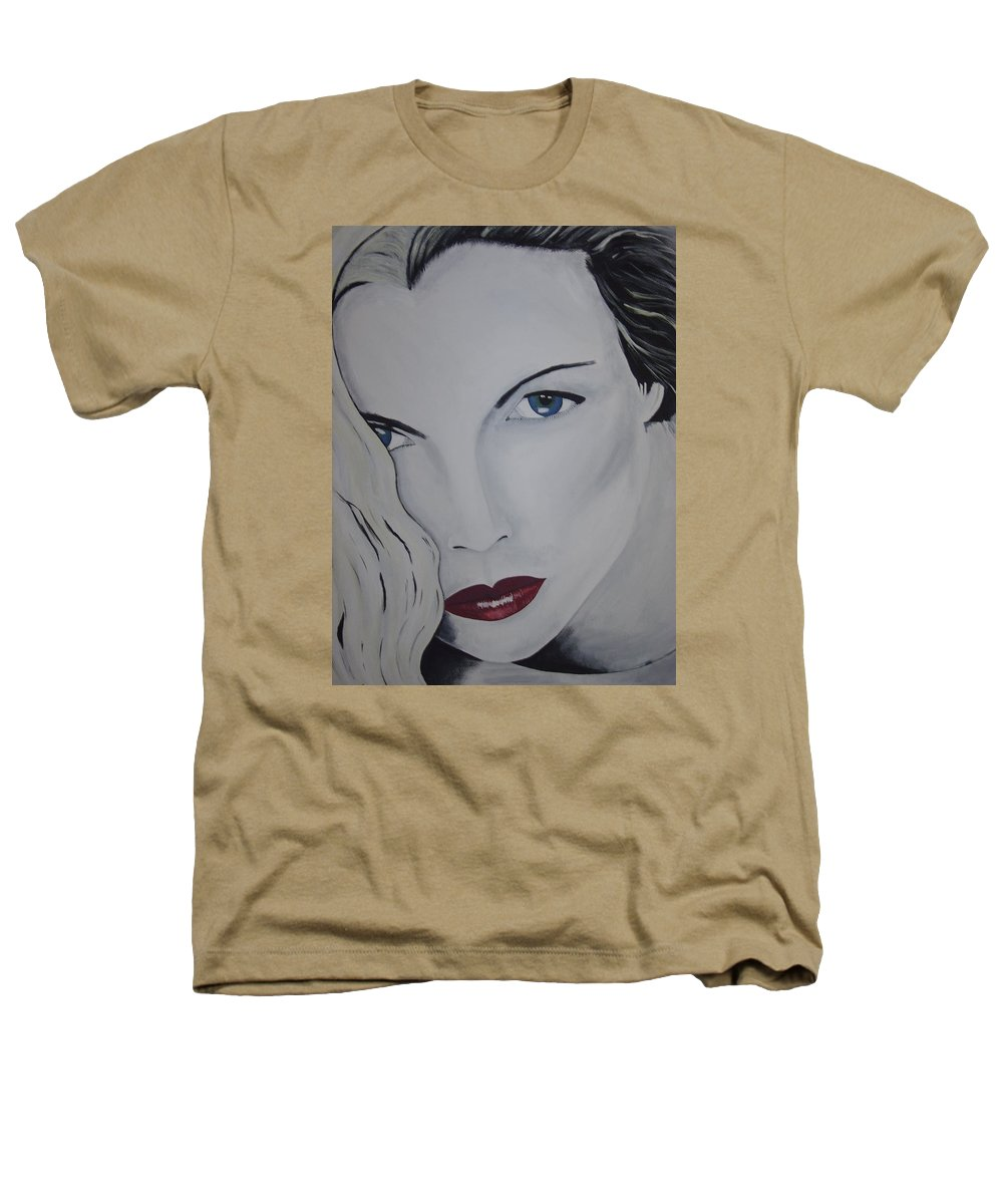 Beauty Heathers T-Shirt featuring the painting The Natural by Dean Stephens