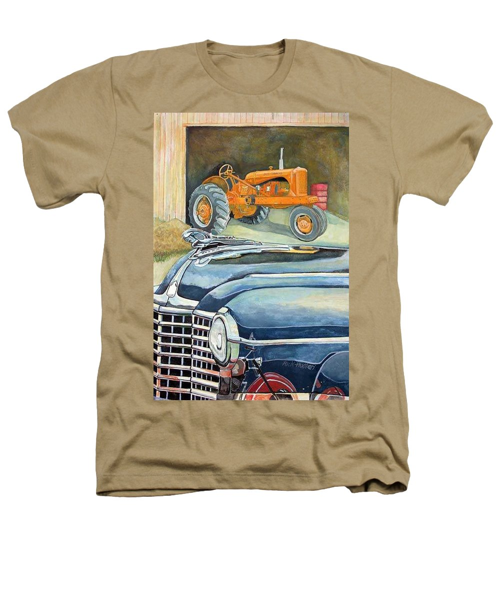 Rick Huotari Heathers T-Shirt featuring the painting The Old Farm by Rick Huotari