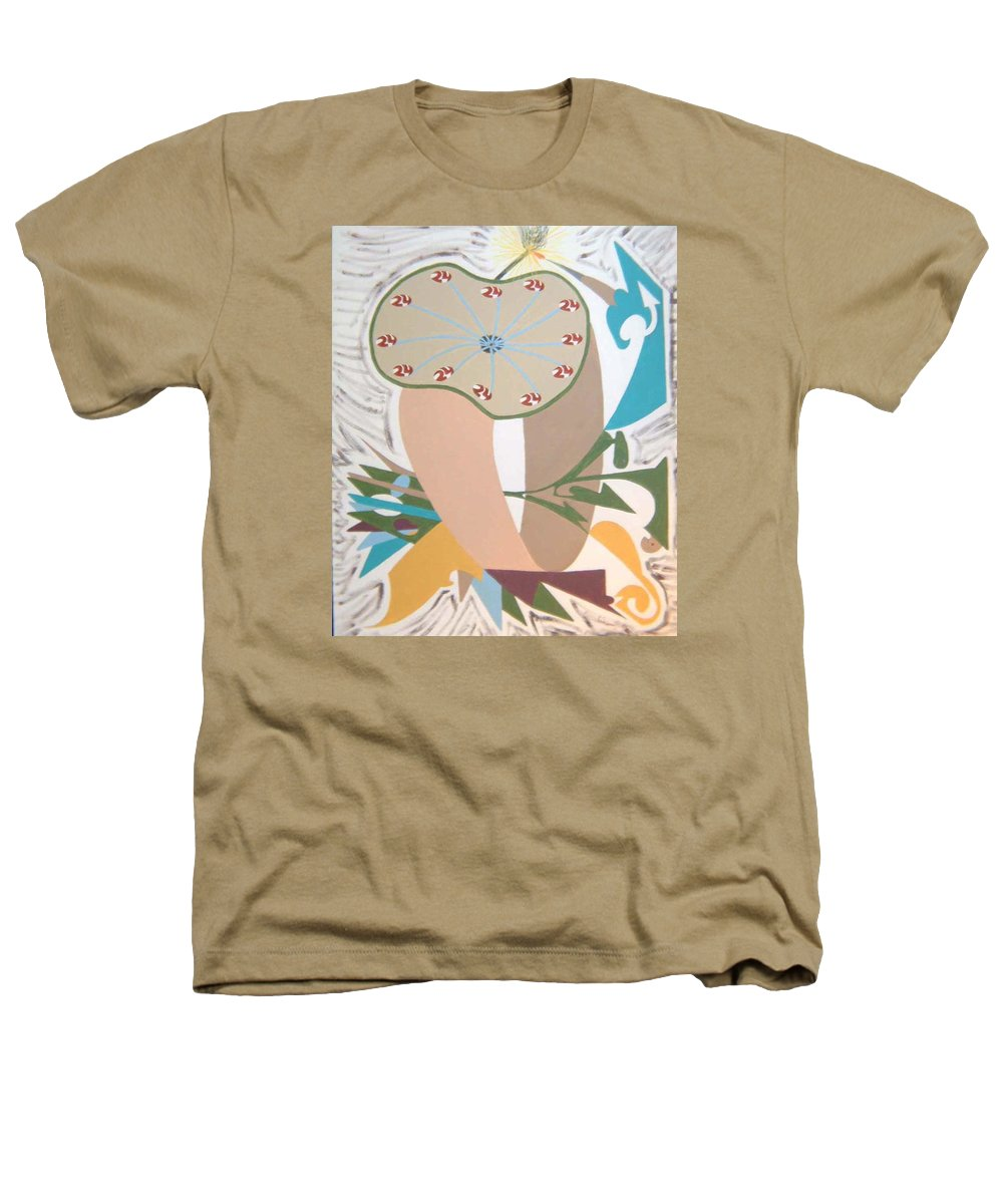 Abstract Heathers T-Shirt featuring the painting Times Up by Dean Stephens
