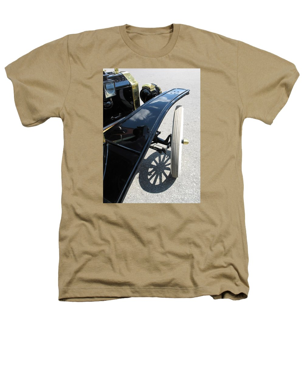 Model T Heathers T-Shirt featuring the photograph Vintage Model T by Ann Horn