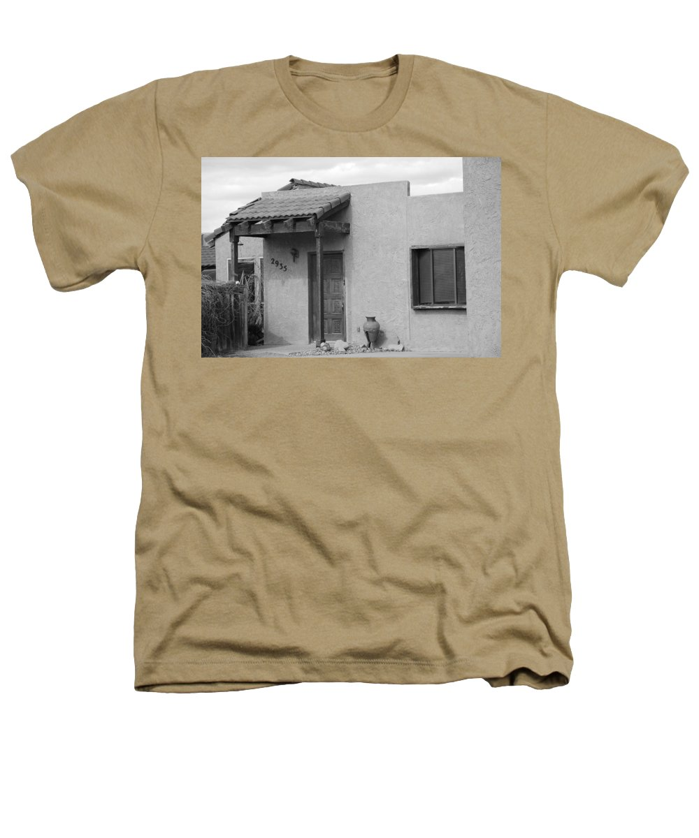 Architecture Heathers T-Shirt featuring the photograph Adobe House by Rob Hans