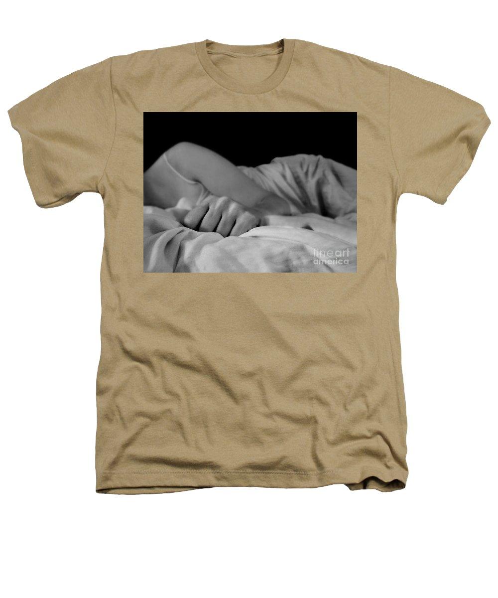 Dipasquale Heathers T-Shirt featuring the photograph Cast Me Gently Into Morning For The Night Has Been Unkind by Dana DiPasquale