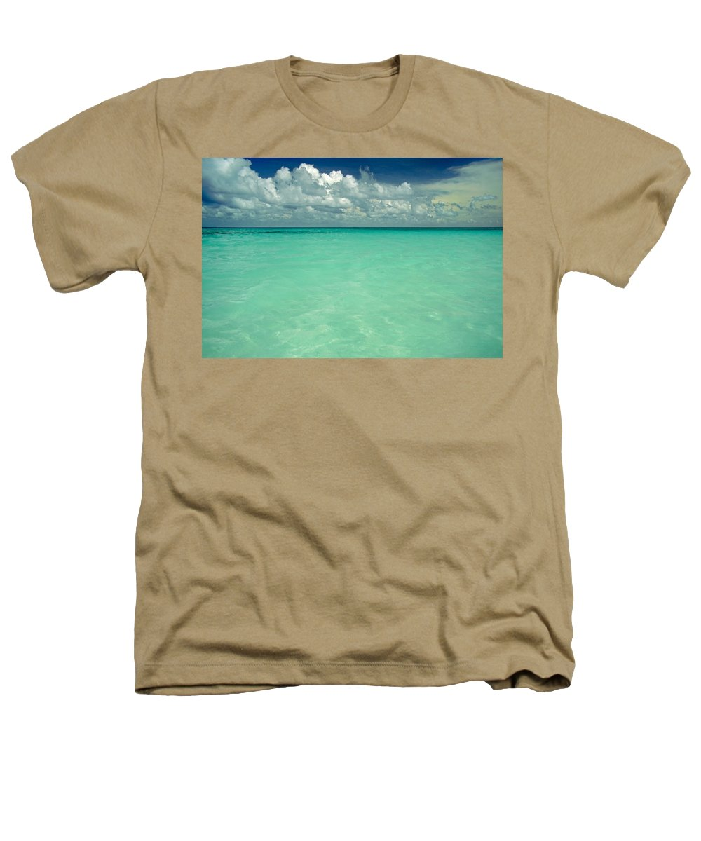 Belize Heathers T-Shirt featuring the photograph Heaven by Skip Hunt