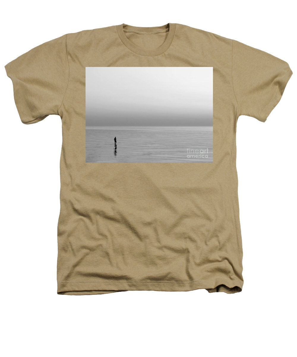 Lake Heathers T-Shirt featuring the photograph One Man by Dana DiPasquale