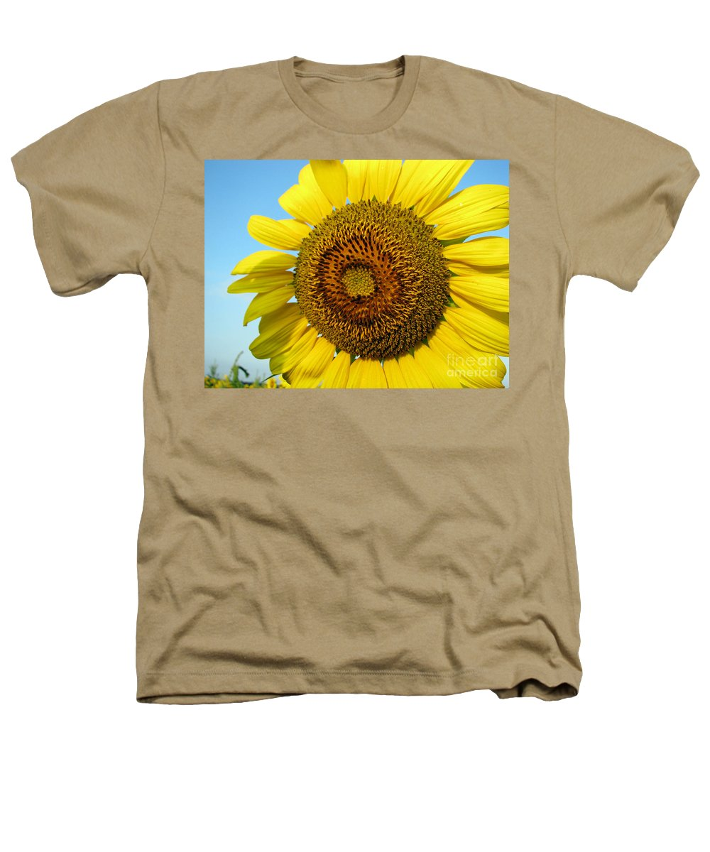 Sunflower Heathers T-Shirt featuring the photograph Sunflower Series by Amanda Barcon