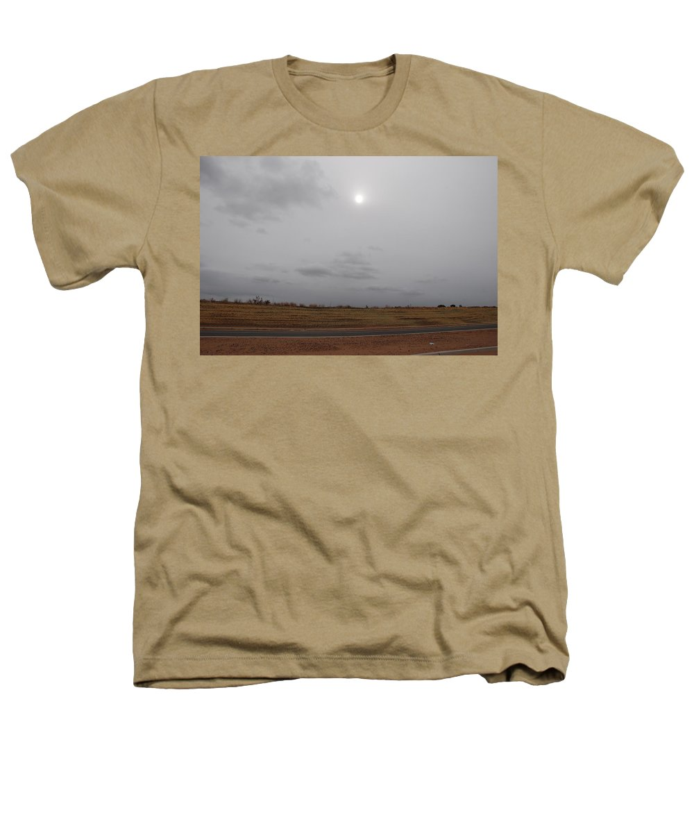 Desert Heathers T-Shirt featuring the photograph Sunset In The Desert by Rob Hans