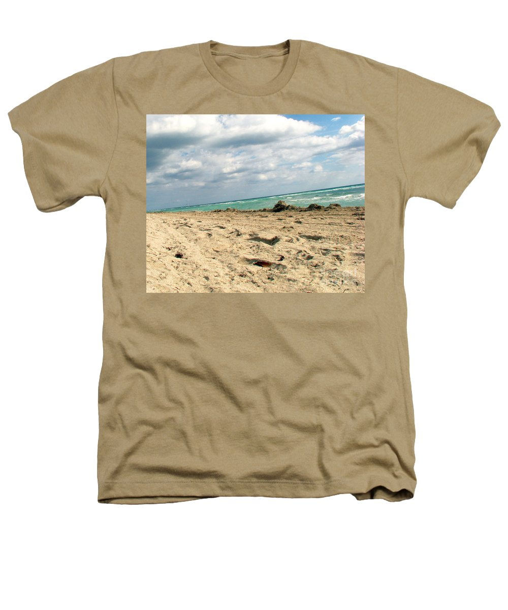 Miami Heathers T-Shirt featuring the photograph Miami Beach by Amanda Barcon