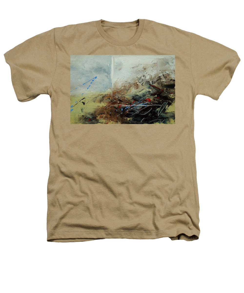 Abstract Heathers T-Shirt featuring the print Abstract 070408 by Pol Ledent