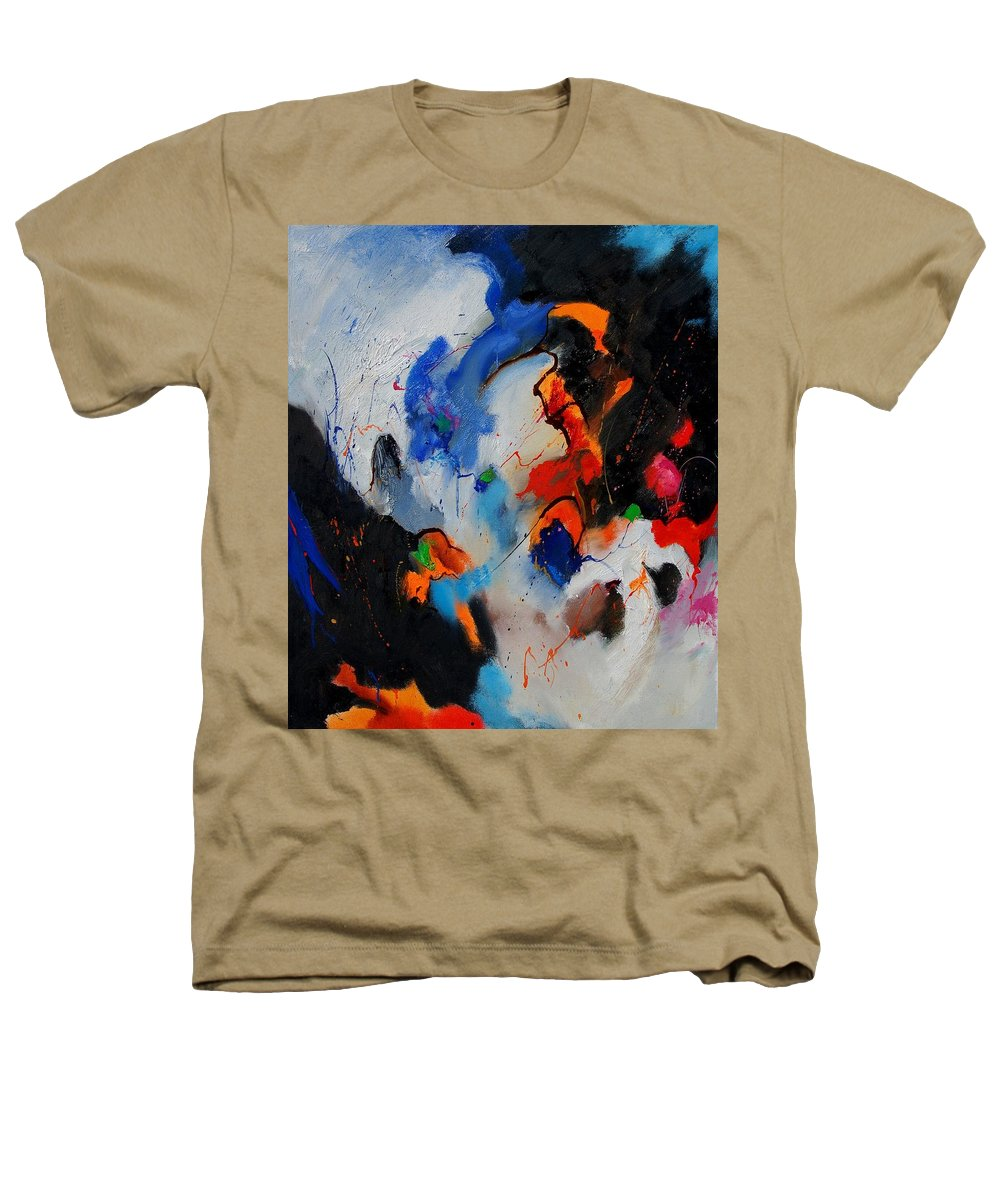 Abstract Heathers T-Shirt featuring the painting Abstract 905060 by Pol Ledent