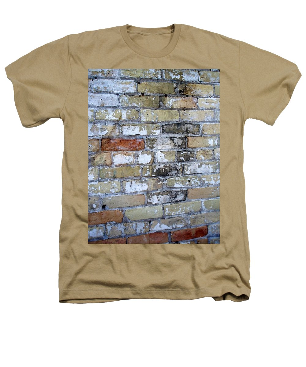 Industrial Heathers T-Shirt featuring the photograph Abstract Brick 10 by Anita Burgermeister
