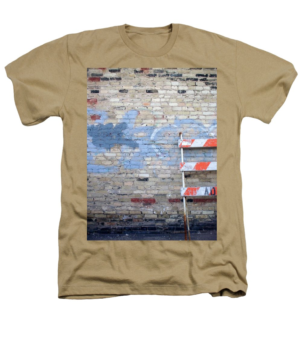 Industrial Heathers T-Shirt featuring the photograph Abstract Brick 2 by Anita Burgermeister