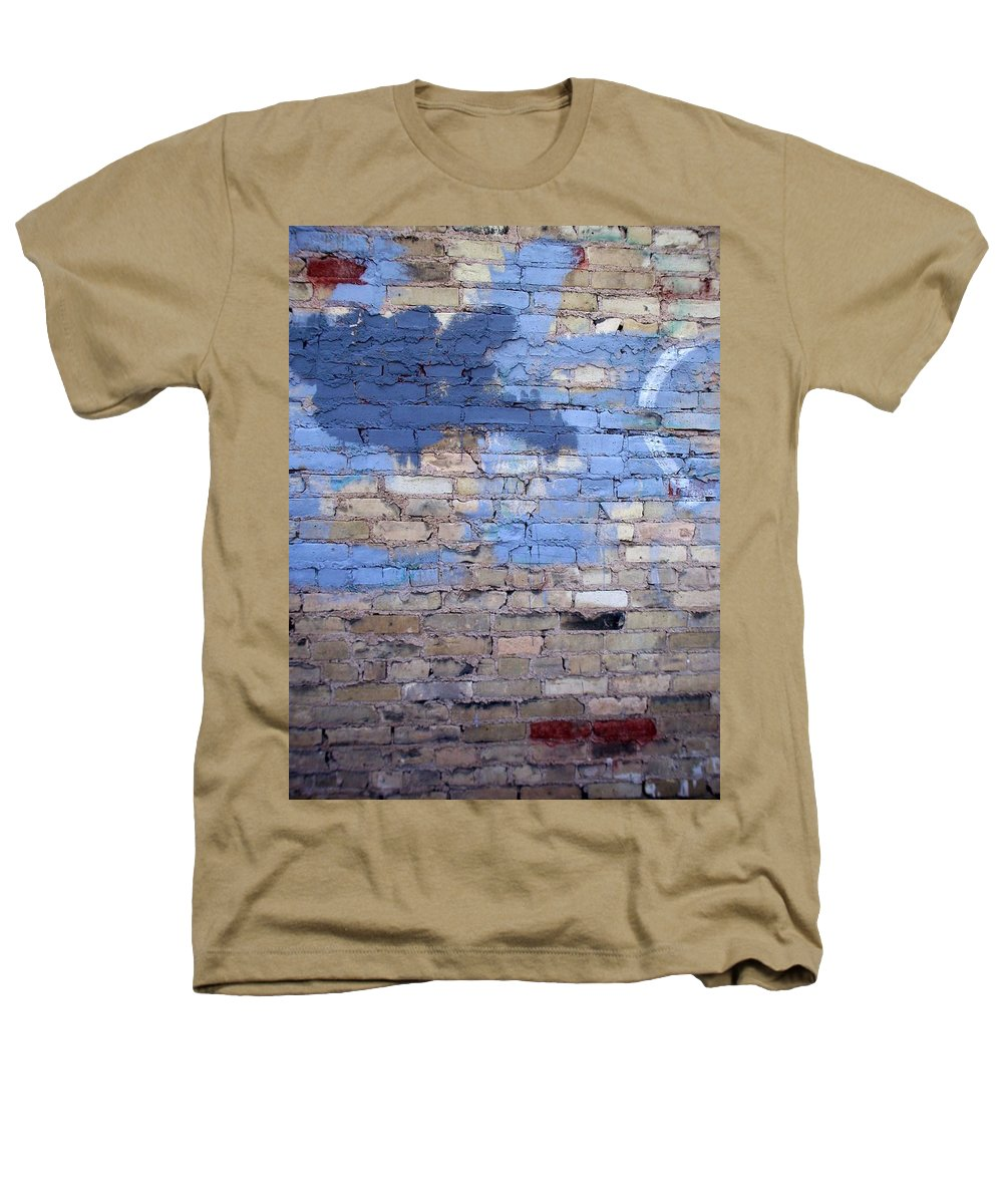 Industrial Heathers T-Shirt featuring the photograph Abstract Brick 3 by Anita Burgermeister