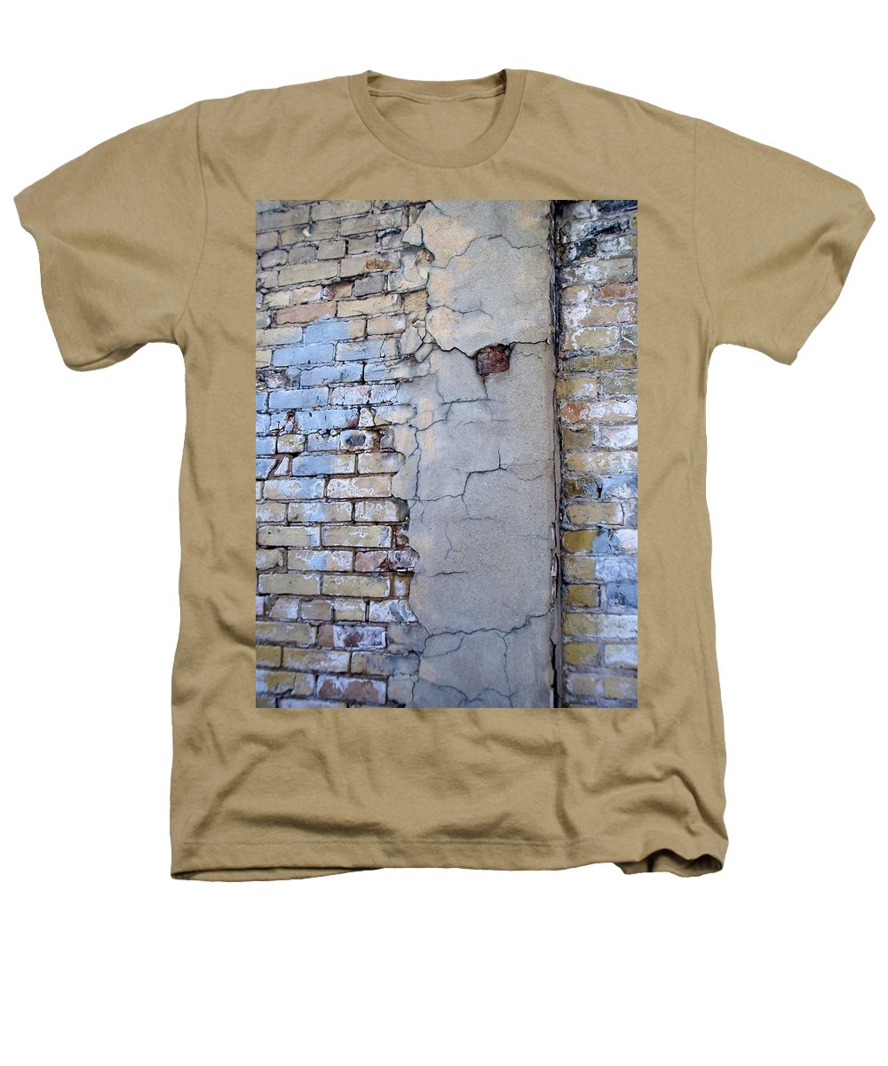Industrial Heathers T-Shirt featuring the photograph Abstract Brick 4 by Anita Burgermeister