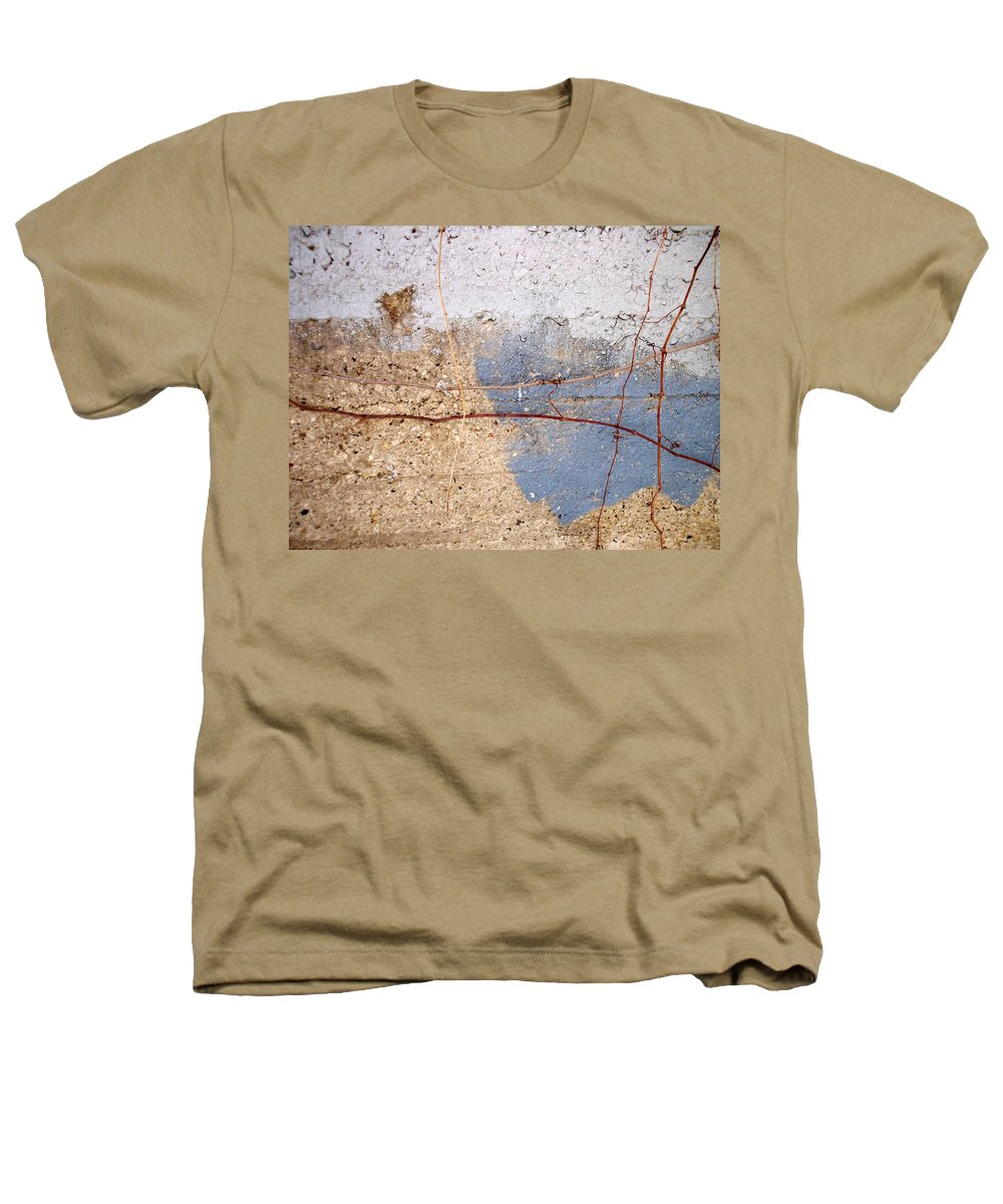 Industrial. Urban Heathers T-Shirt featuring the photograph Abstract Concrete 15 by Anita Burgermeister