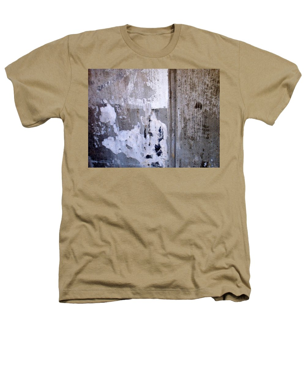 Industrial. Urban Heathers T-Shirt featuring the photograph Abstract Concrete 6 by Anita Burgermeister