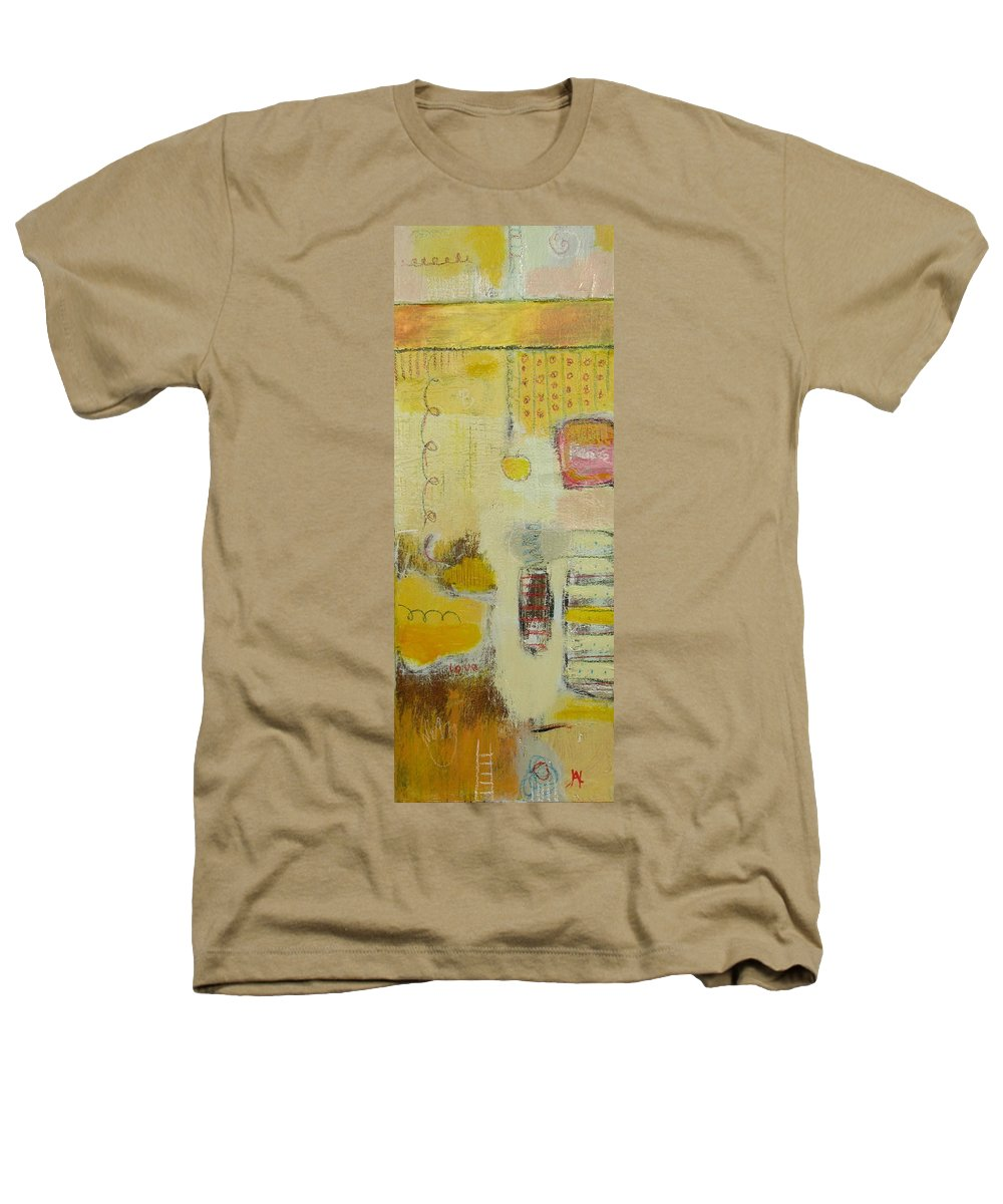 Abstract Heathers T-Shirt featuring the painting Abstract Life 1 by Habib Ayat