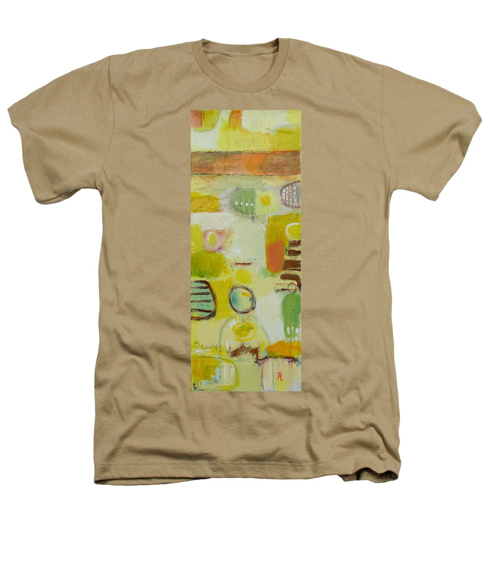Heathers T-Shirt featuring the painting Abstract Life 2 by Habib Ayat
