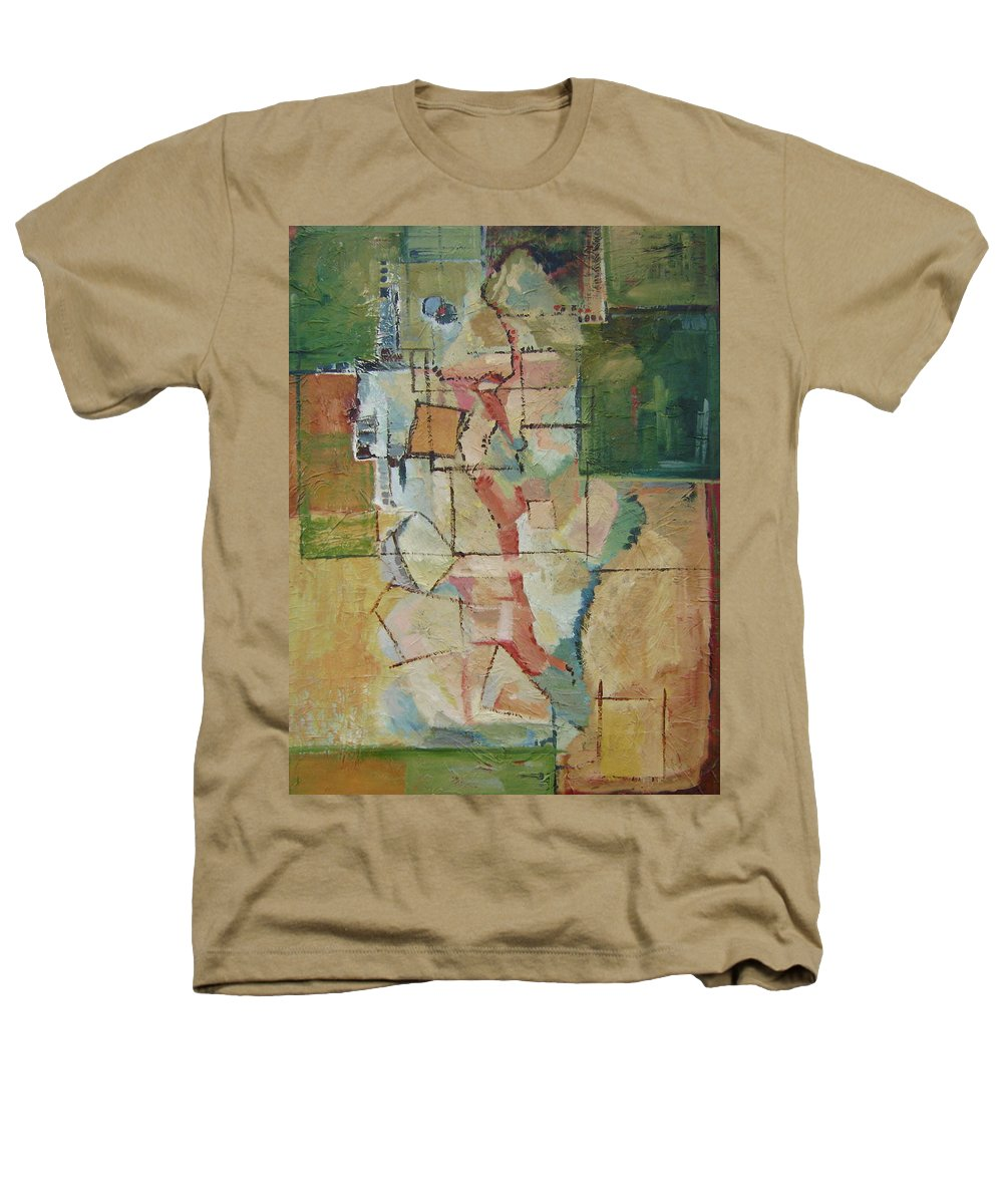 Abstract Art Heathers T-Shirt featuring the painting Aerial by Ginger Concepcion