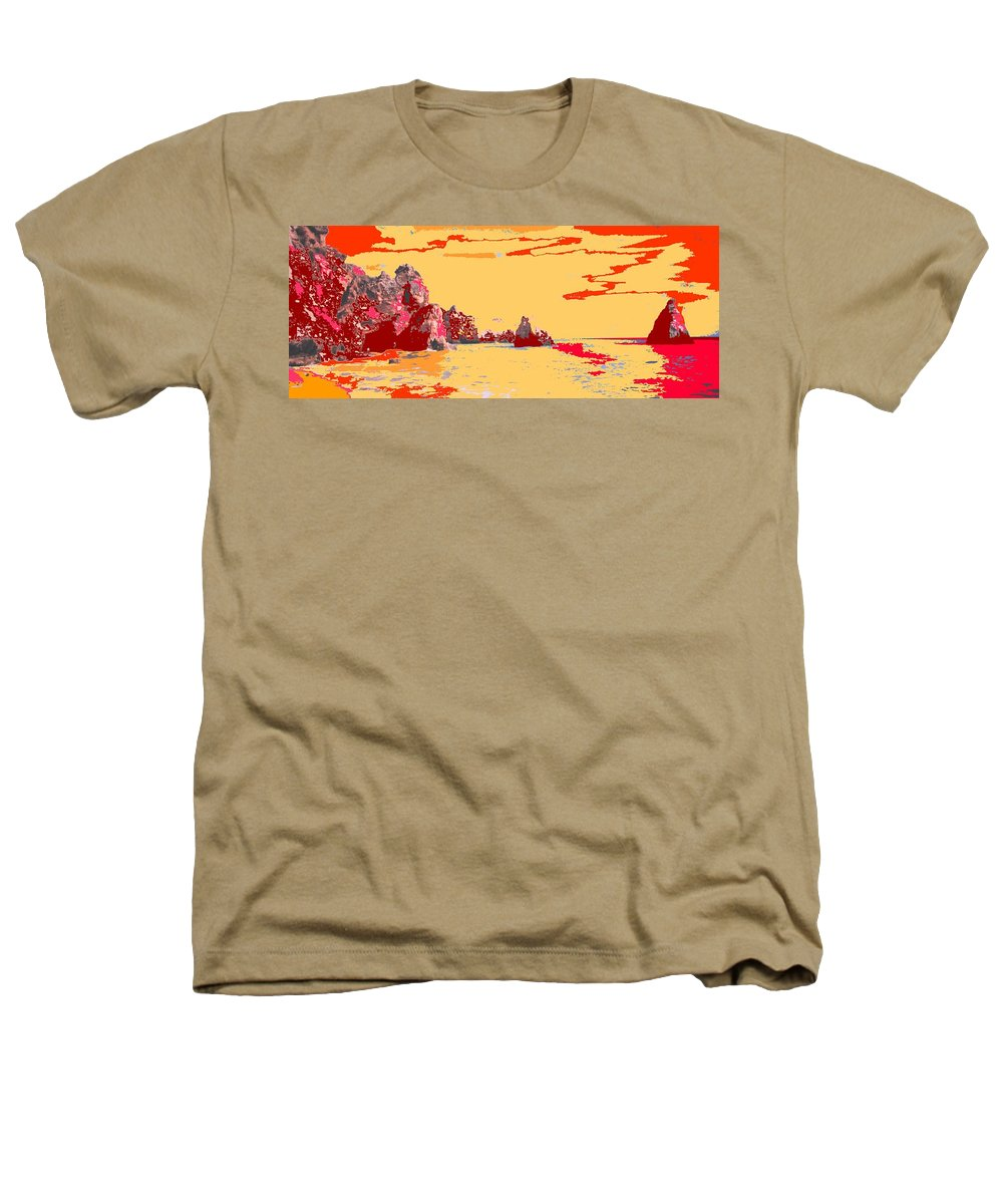 Mediterranean Heathers T-Shirt featuring the photograph Algarve Sunrise by Ian MacDonald