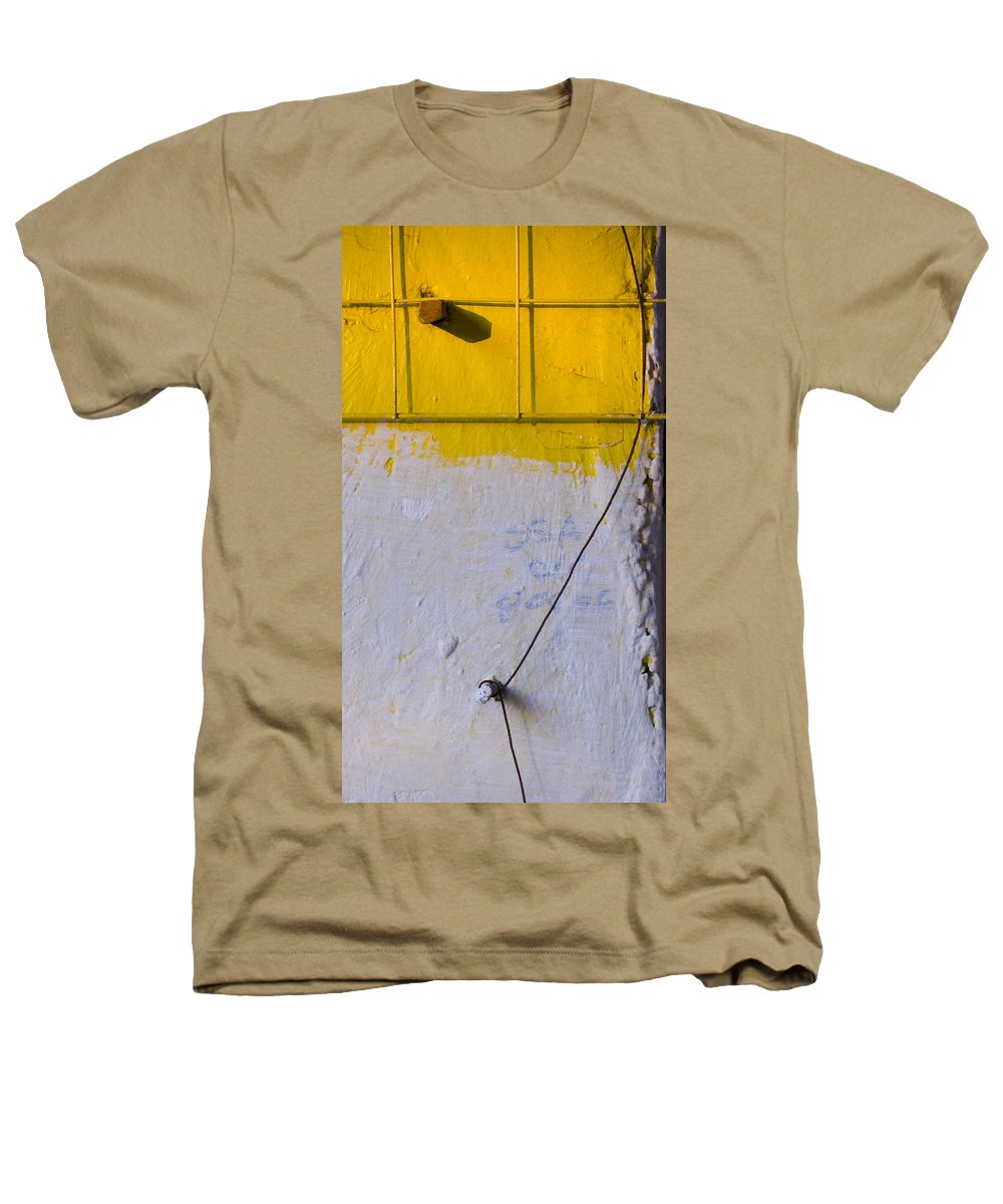 Abstract Heathers T-Shirt featuring the photograph Amarillo by Skip Hunt