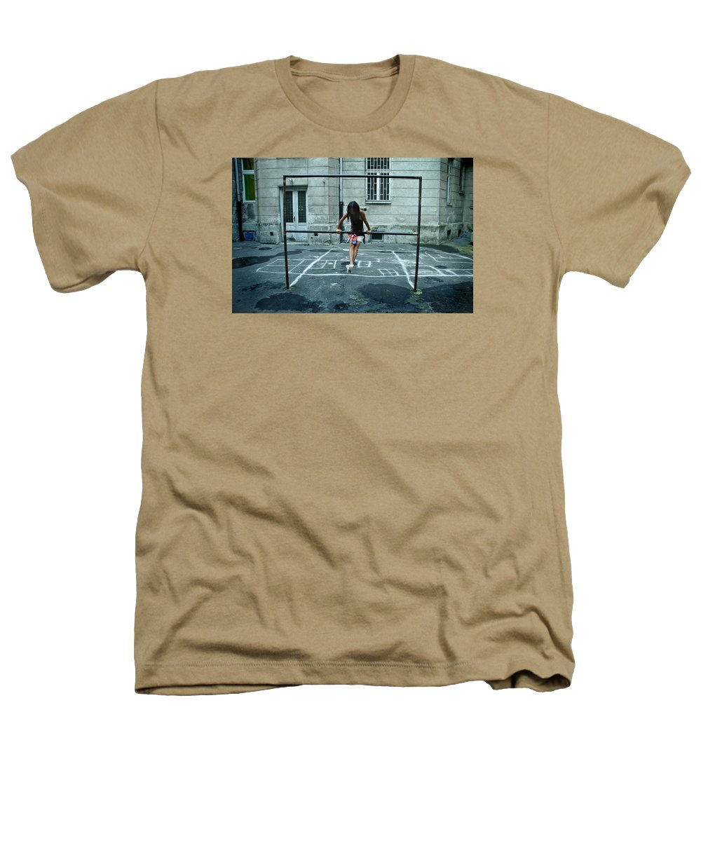 Children Heathers T-Shirt featuring the photograph Ana At The Barre by Michael Ziegler