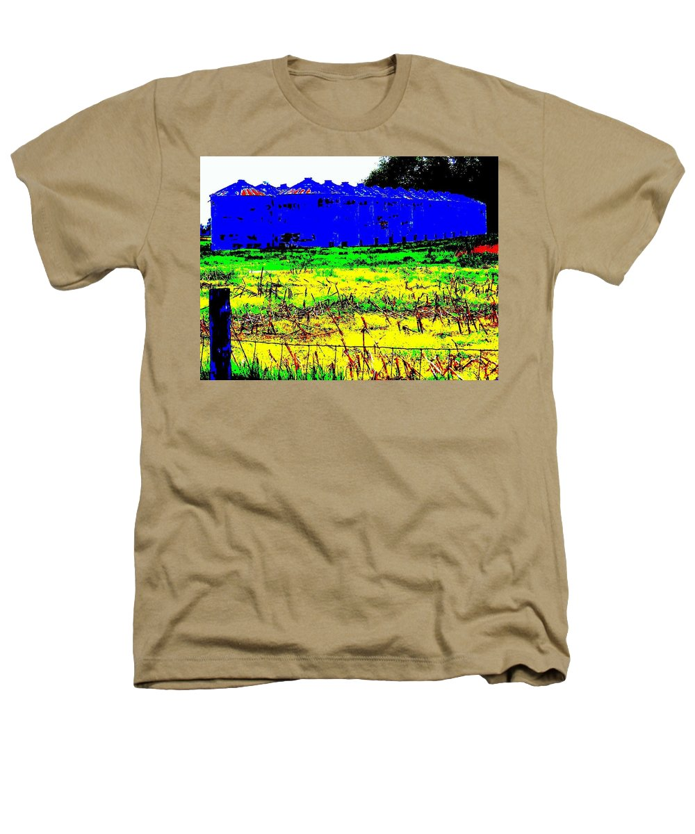 Landscape Heathers T-Shirt featuring the photograph Andys Farm by Ed Smith