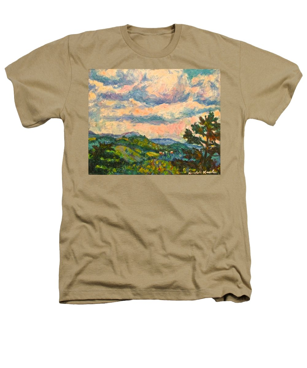 Landscape Paintings Heathers T-Shirt featuring the painting Another Rocky Knob by Kendall Kessler