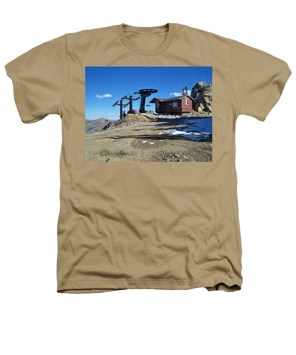 Landscape Heathers T-Shirt featuring the photograph Anticipation by Michael Cuozzo