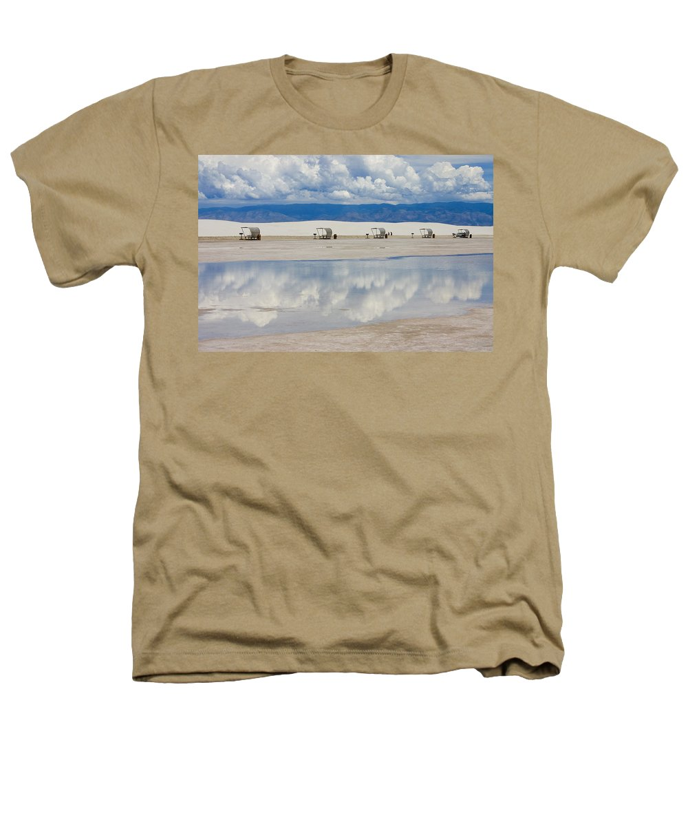 New Mexico Heathers T-Shirt featuring the photograph Armageddon Picnic by Skip Hunt