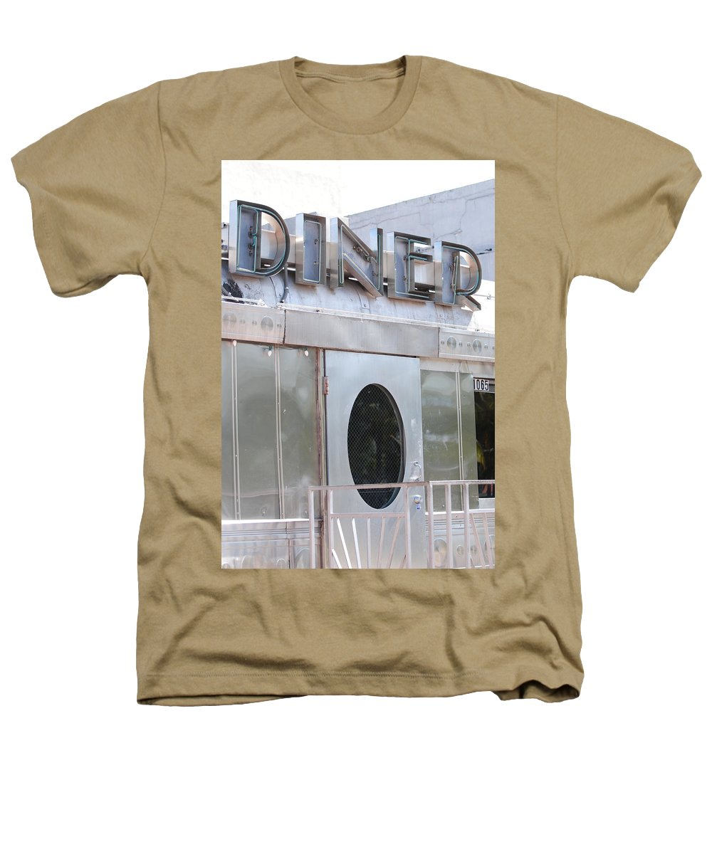 Architecture Heathers T-Shirt featuring the photograph Art Deco Diner by Rob Hans