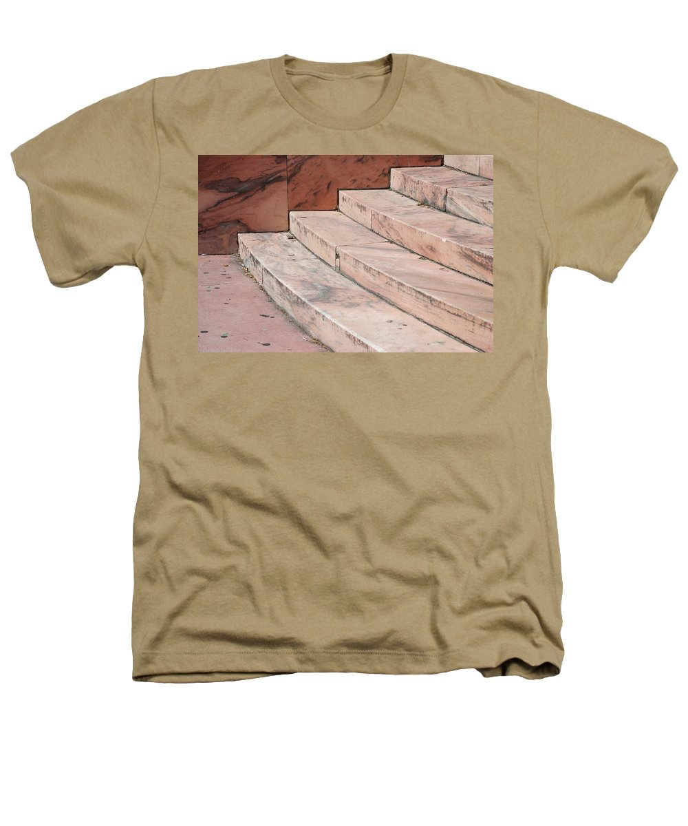 Architecture Heathers T-Shirt featuring the photograph Art Deco Steps by Rob Hans
