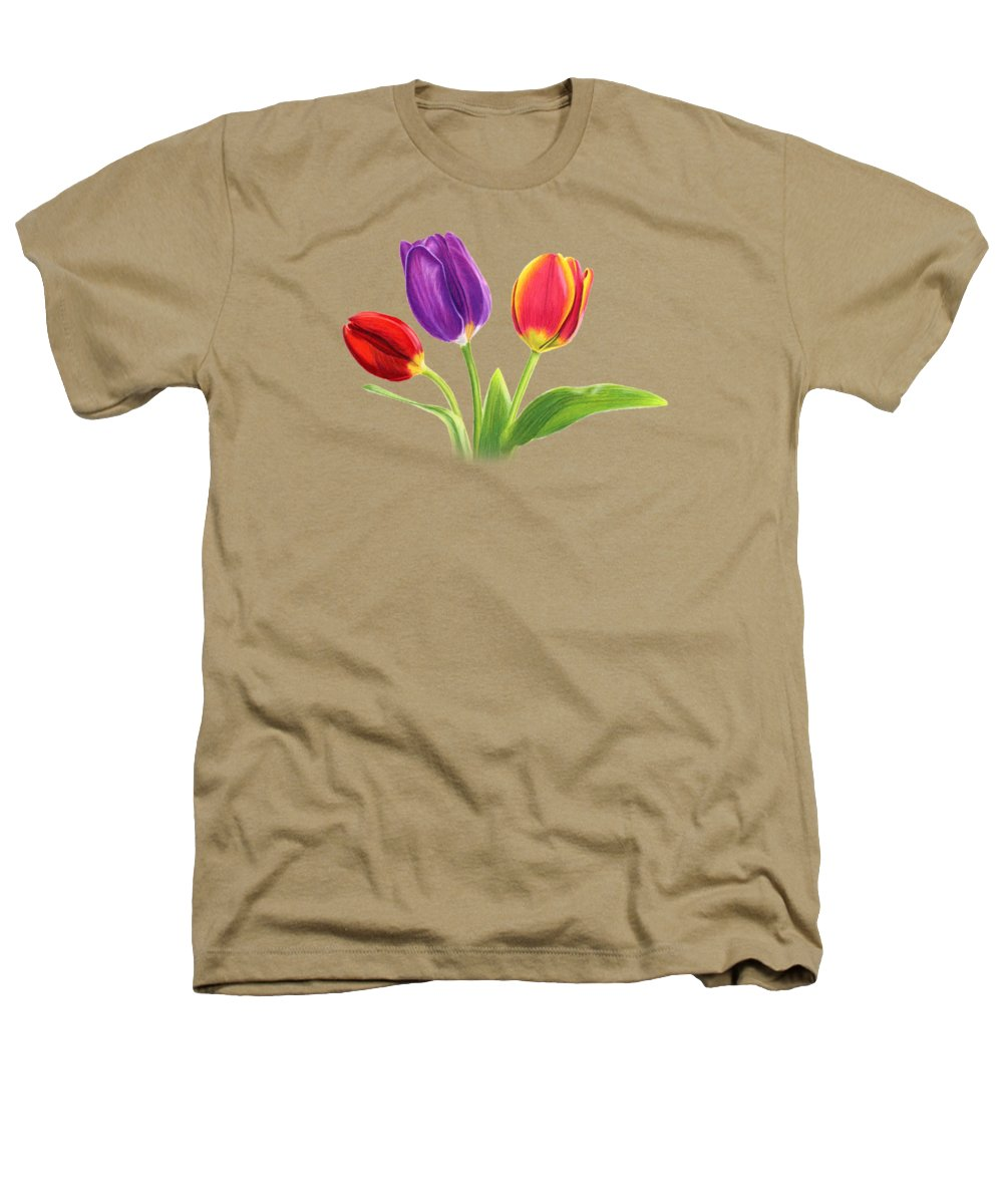 Tulips Heathers T-Shirts