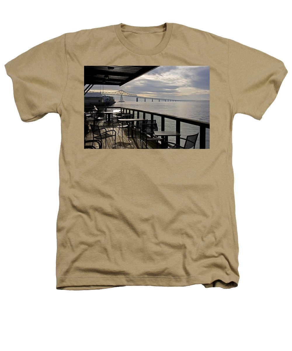 Scenic Heathers T-Shirt featuring the photograph Astoria by Lee Santa