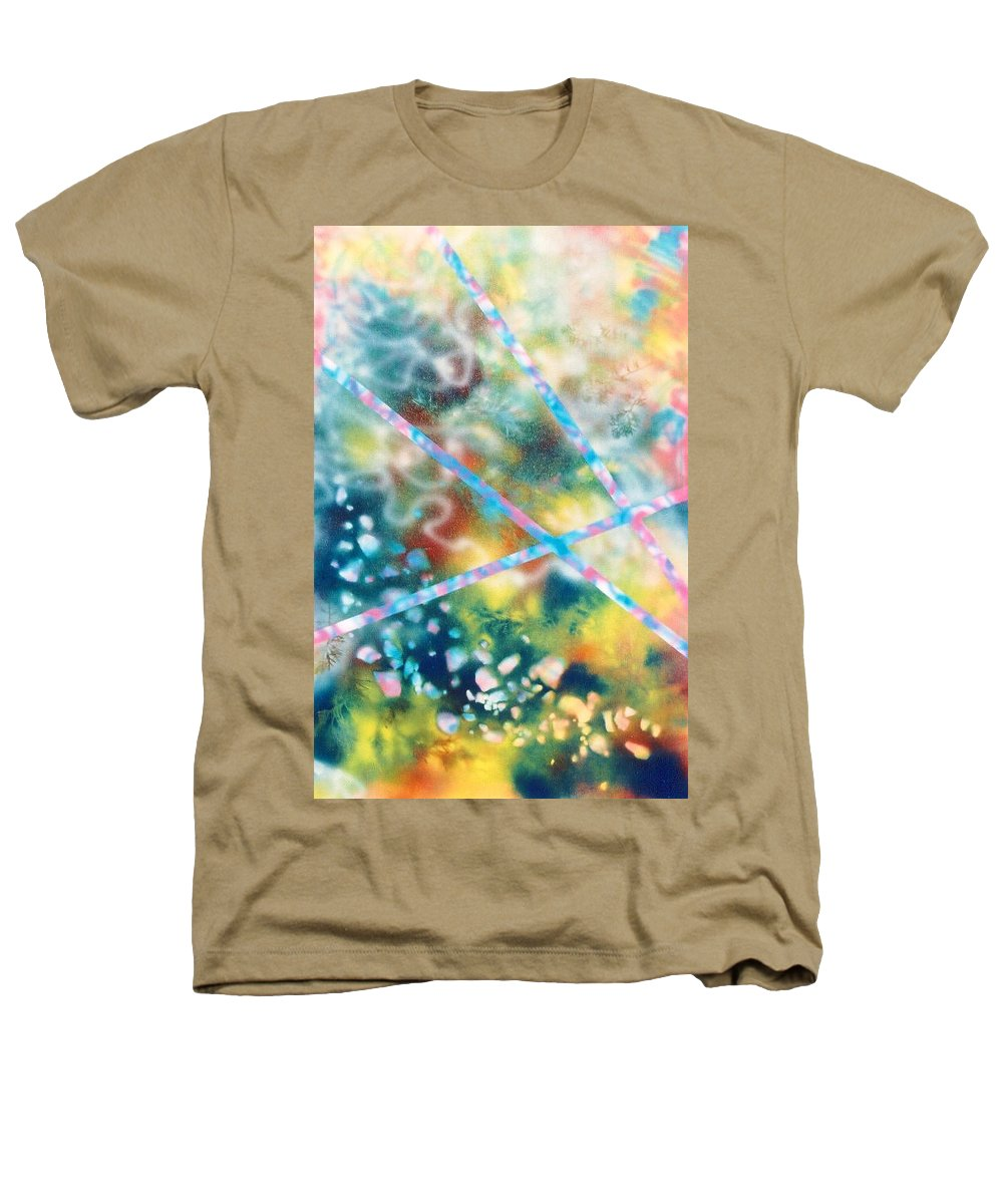 Abstract Heathers T-Shirt featuring the painting Autumn by Micah Guenther