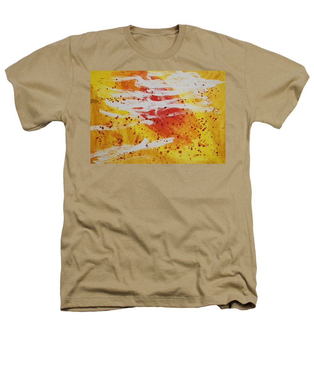 Abstract Heathers T-Shirt featuring the painting Bailando En El Sol by Lauren Luna