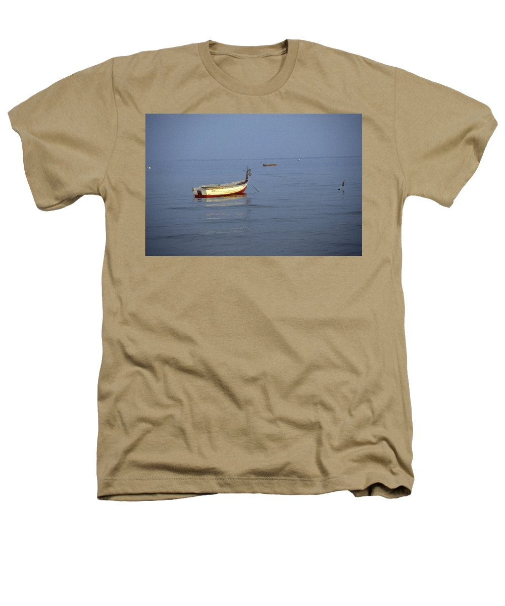 Baltic Sea Heathers T-Shirt featuring the photograph Baltic Sea by Flavia Westerwelle