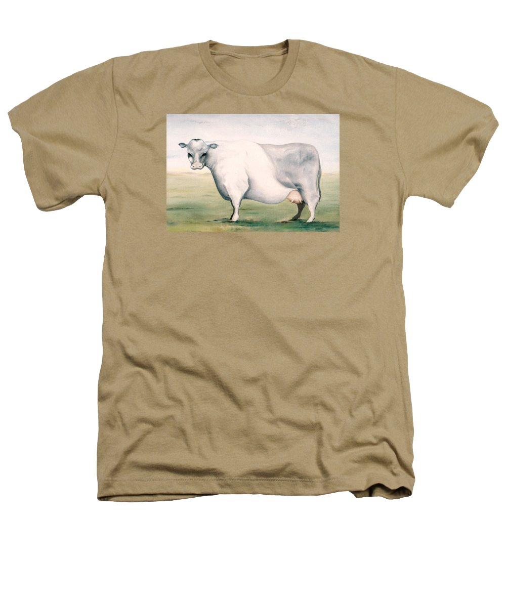 Beef Heathers T-Shirt featuring the painting Beef Holocaust I by Mark Cawood