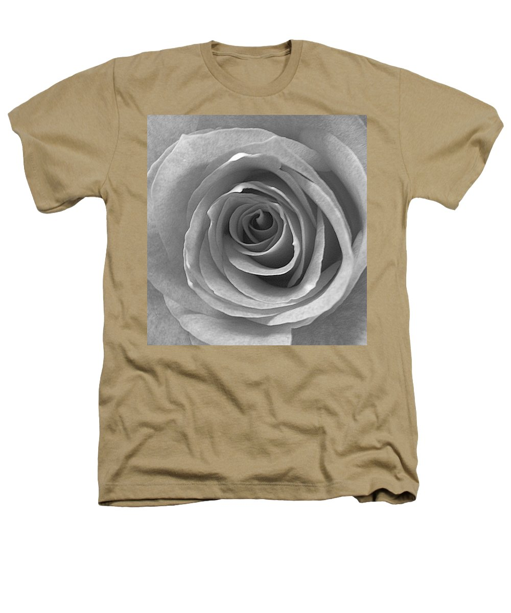 Rose Pedals Heathers T-Shirt featuring the photograph Black And White by Luciana Seymour